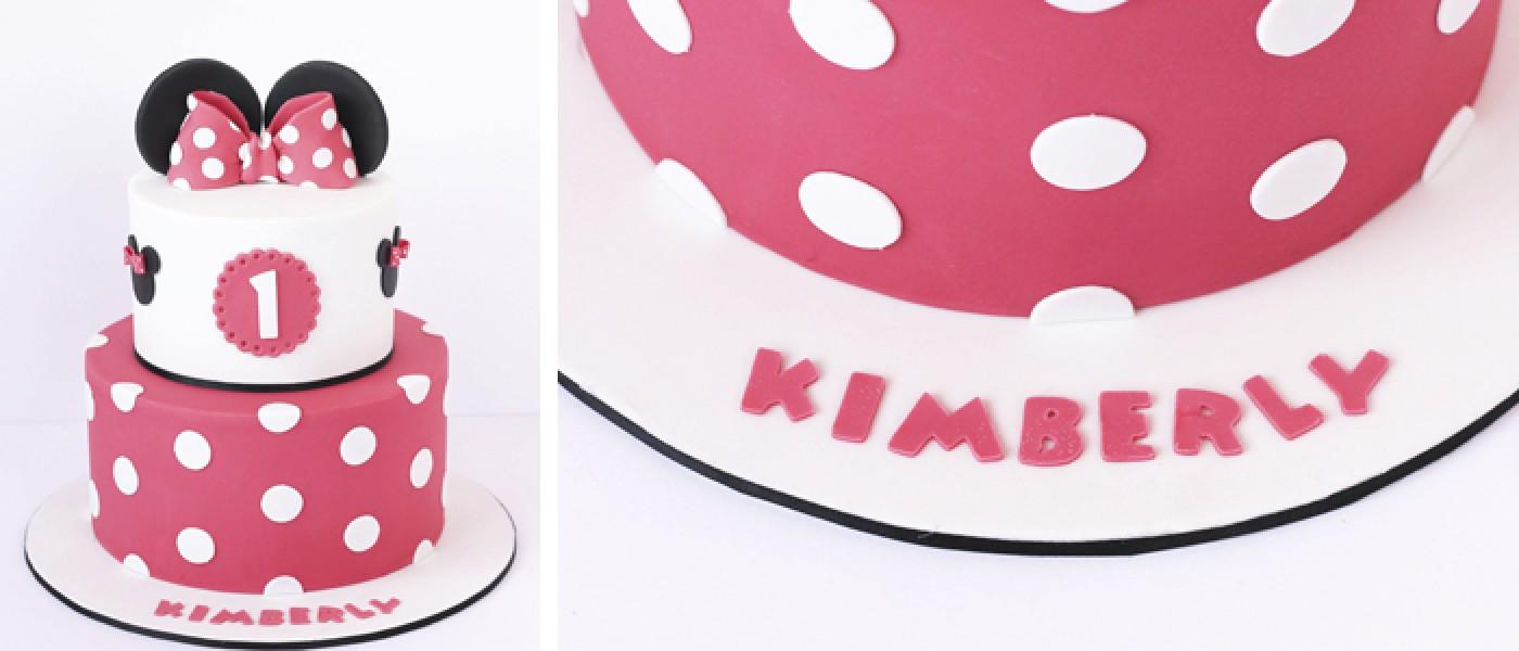 Dulces personalizados de Minnie Mouse
