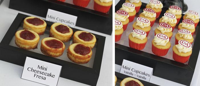 Mesa de dulces para la empresa c&a