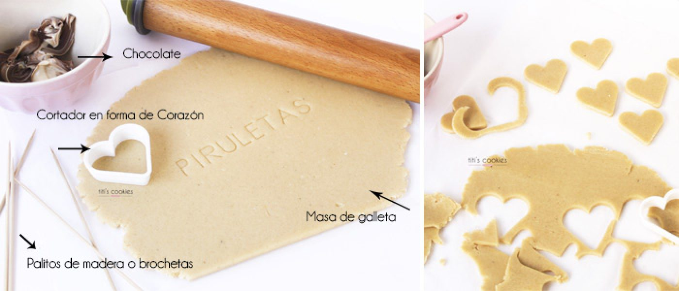 Mini Tutorial Piruletas de Galleta
