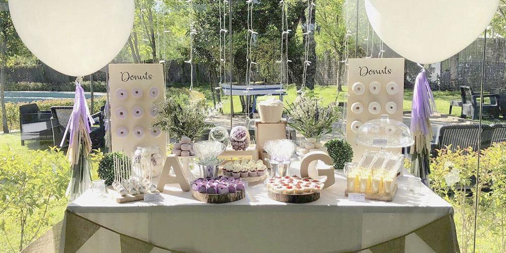Mesas de dulces Personalizadas cumpleaños
